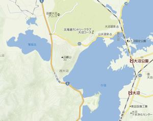 日暮山周辺地図