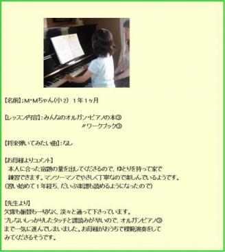 M・Sちゃんのプロフィール