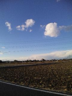 ポッカリ雲