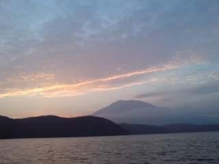 20101114 夕暮れの黒姫山