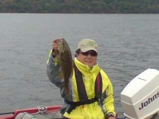 20111023 ビッグブレードで釣れた