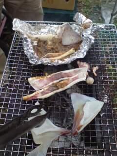 20111105 新鮮なイカをワタで頂き