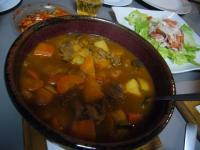 野菜牛肉カレー