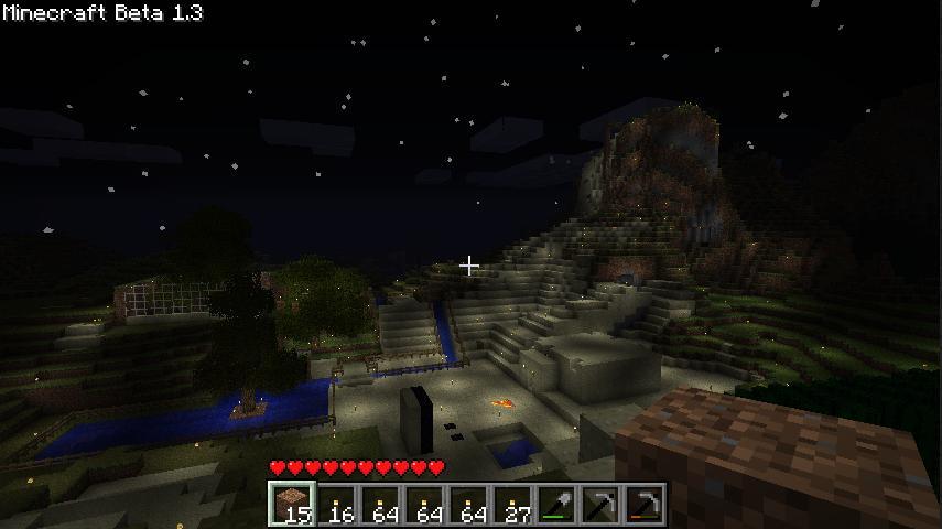 minecraft 夜