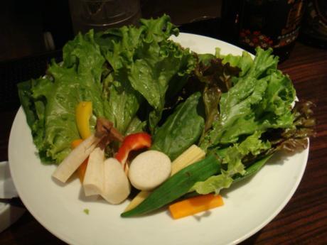とんがら201107とんがら焼き野菜