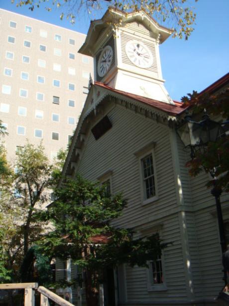 北海道旅行時計台