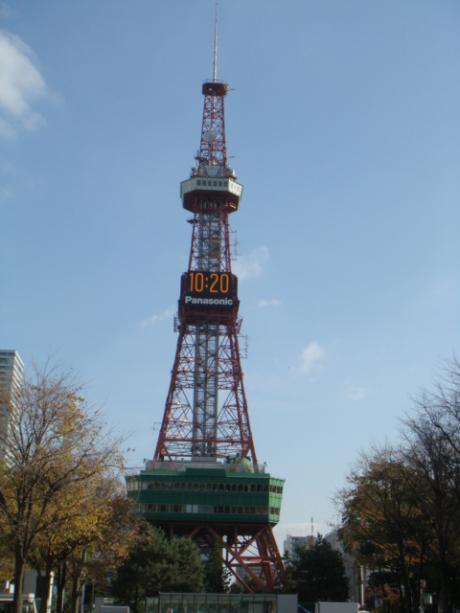 北海道旅行テレビ塔