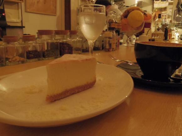 baristaチーズケーキ