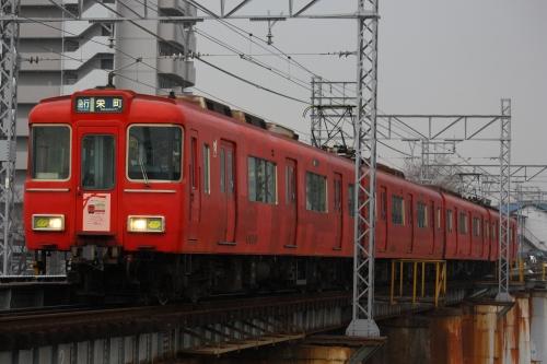 A6 雨の矢田川にて