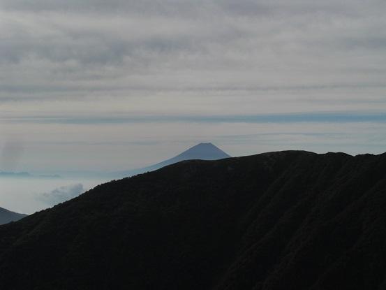 富士の頭。。