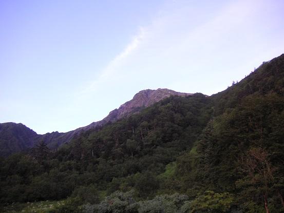 今日の北岳くんは