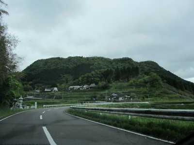 伐株山全景