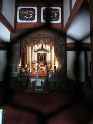 多久聖廟内部