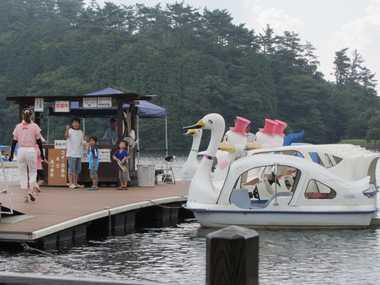 志高湖ボート