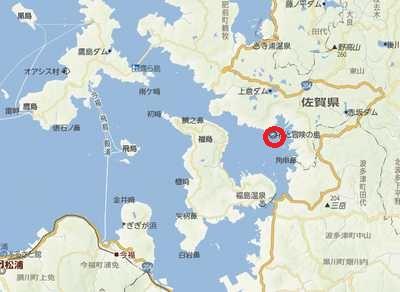 いろは島 地図1