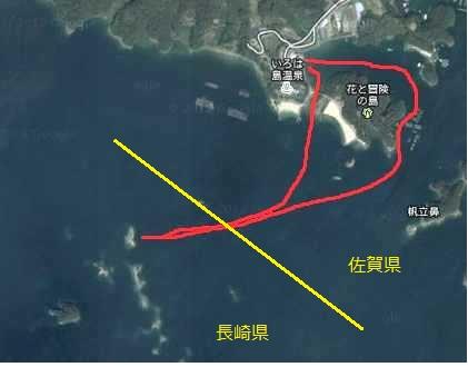いろは島 地図2