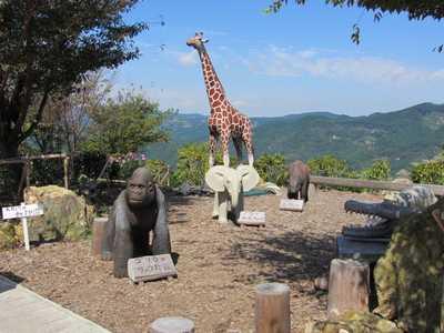 木彫り動物園2