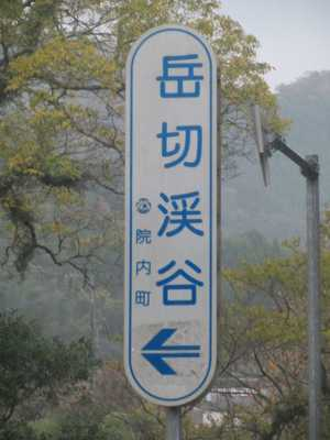 岳切渓谷1