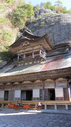 羅漢寺-本堂2