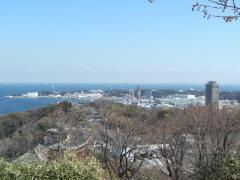 港の見える丘から