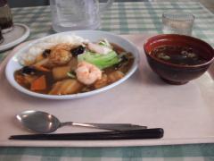 中華丼(海老名市役所の食堂)