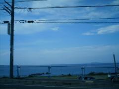 長者ヶ崎から 富士山と江の島