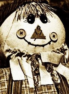 人形 セピア