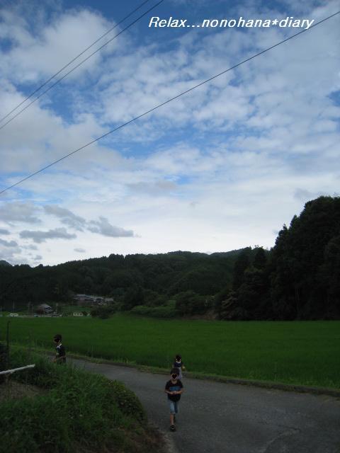夏休み田舎へ