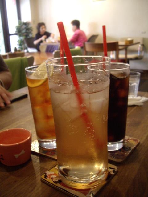 飲み物・・・。