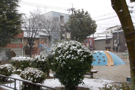 雪の大阪4