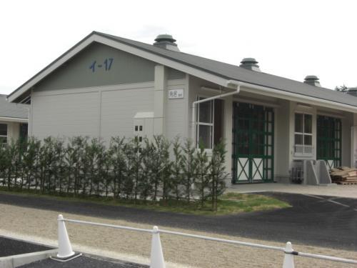(5)角居新厩舎