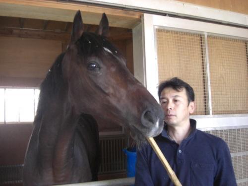 フォゲッタブル・市川厩務員