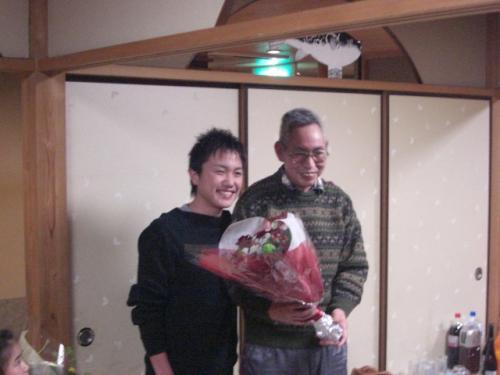 (8)川島信二・三浦照雄厩務員(荒川厩舎)