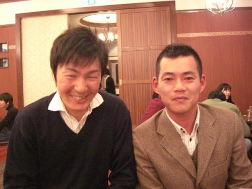 (2)三方大地助手(松田国厩舎)・松本康宏ノーザンファームしがらき場長