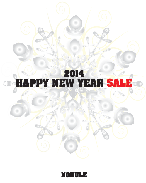 2014 HAPPY NEW YEAR SALE NORULE