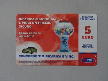 Ricaricard(リカリカード)5€