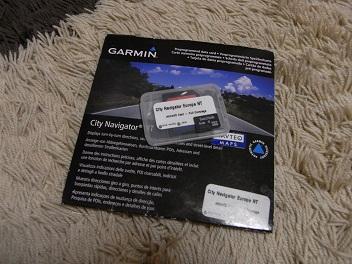Garmin海外マップ(Europe版)