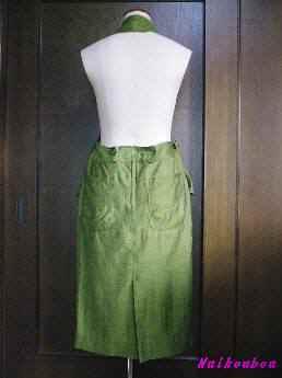 ホルターネックのジャンバースカート2