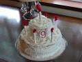 ナンフェア バースデーケーキの帽子