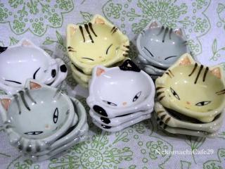 猫の豆皿1