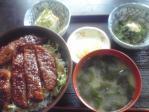 まりちゃんラーメンというお店があるのですが、そこのカツ丼。会津ではカツ丼というと、ソースカツ丼になります