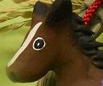 ミニお飾りお馬さん のコピー
