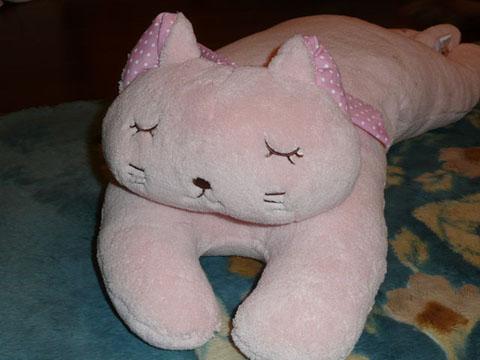 004猫枕