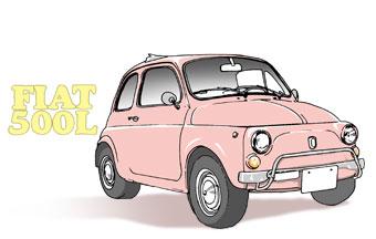 FIATのイラスト