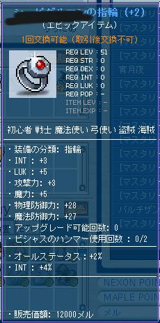 ccI3L5 M5 INT6 指輪