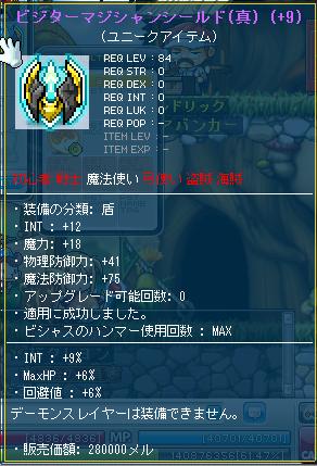 cbI12M18 INT9 ビジターM盾