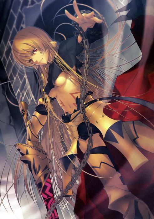 ギルガメッシュ_Fate二次創作_女体化