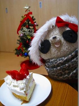 ケーキもいただきます