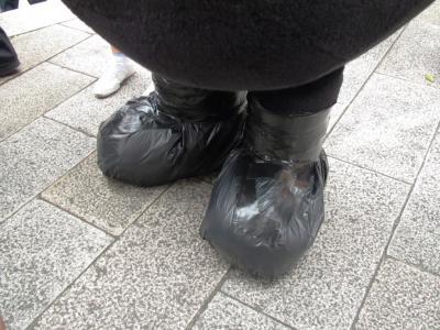 ちゃんと長靴くまモン