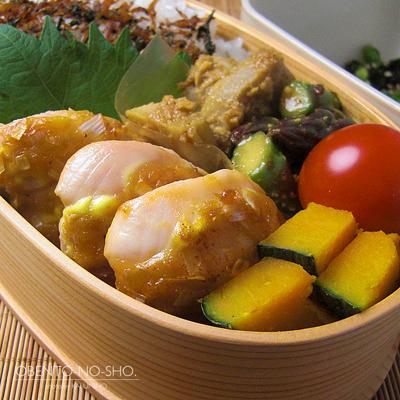 ササミの味噌マヨ焼き弁当02
